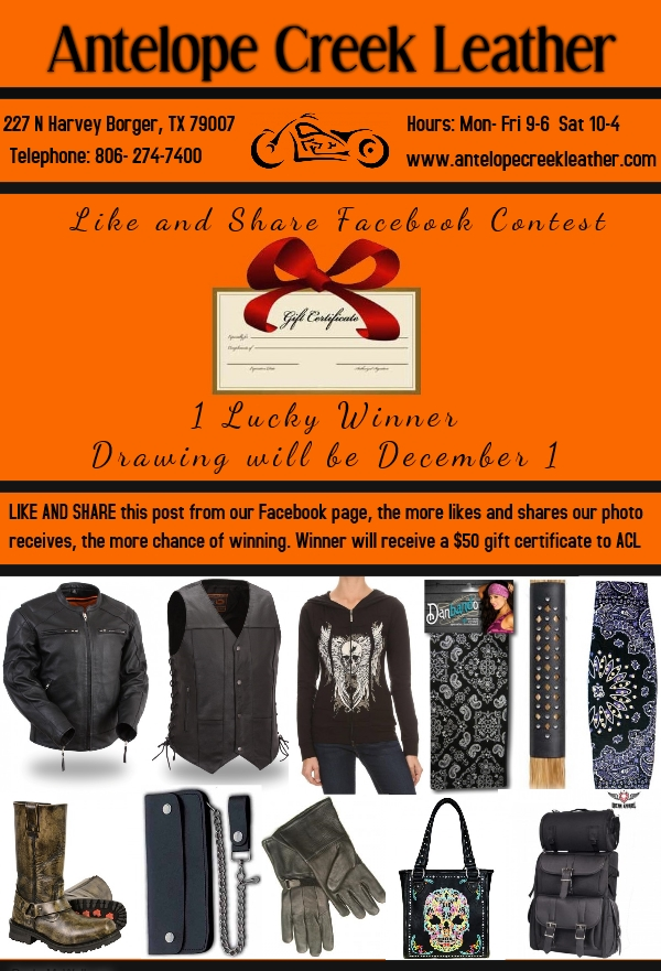 motorcycle gear contest - biker apparel footwear accessories - leather clothing offers and deals